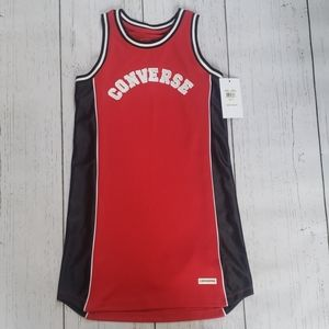 Converse tank dress kids size M
